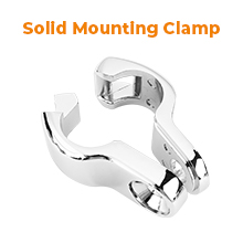 solid mounting clamp