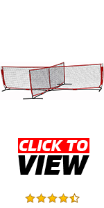 The PowerNet 4-way Soccer Tennis net helps build cardio while improving first touch.