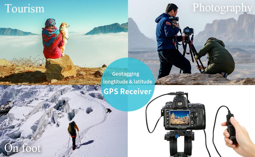 Nikon D7200 GPS Receiver, Micnova GPS-N Plus DSLR Camera GPS Unit Navigation Geotagging