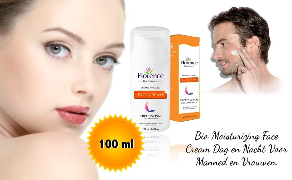 Bio Moisturizing Face Cream Dag en Nacht Voor Manned en Vrouwen