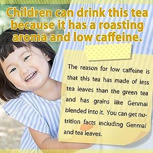 genmaicha brown rice tea japanese rice tea bags brown rice brown rice tea Less caffeine Low caffeine