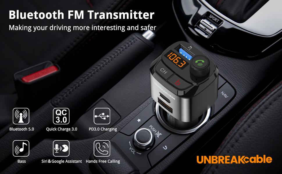 Bluetooth FM-sändare