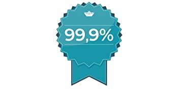 99,9 % de bactéries en moins