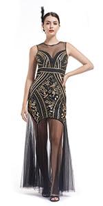 long gatsby dresses