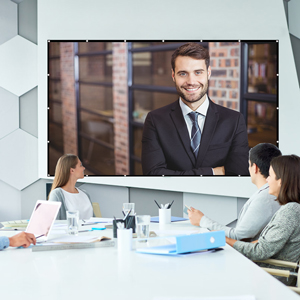High-definition video conferencing