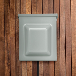 30 Amp 125Volt RV Power Outlet Box Weatherproof Outdoor Electrical NEMA TT-30 R Receptacle Generator