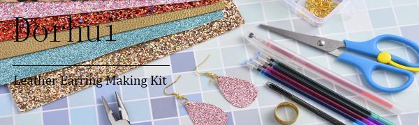Dorhui Leather Earring Making Kit