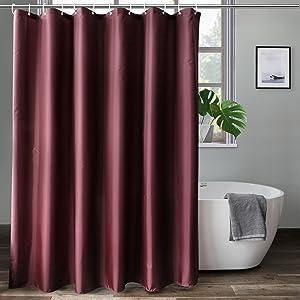 長持ち シャワーカーテン 120 風呂カーテン 180