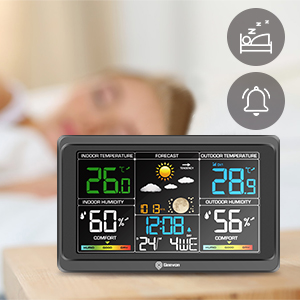 alarm clock with snooze
