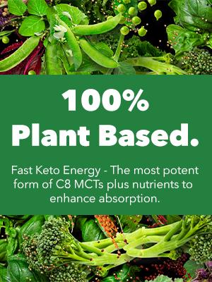 100% plant based