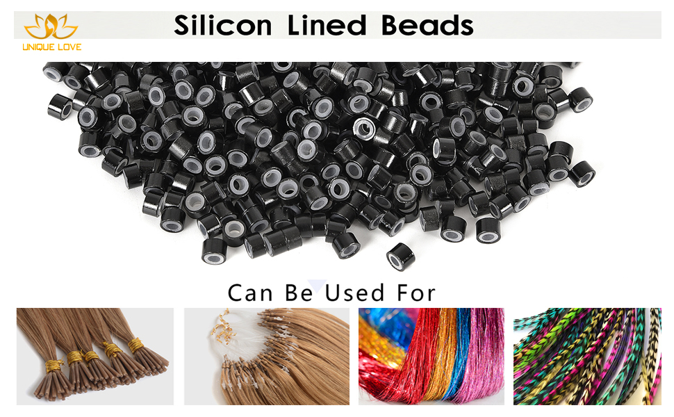 hair extension beads