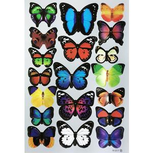 butterfly sticker-B