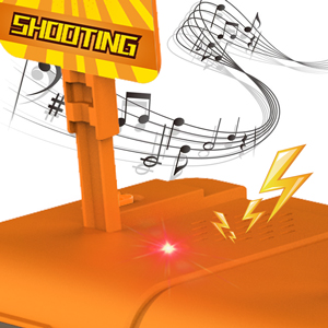 electronic digital shooting target brings an immersive and exciting shooting experience