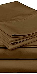 taupe solid sheet set , cotton taupe sheets queen size, taupe sheet set ,  taupe sheet set 6 pieces