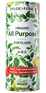 organic fertilizer - all purpose tomatoes vegetables peppers herbs