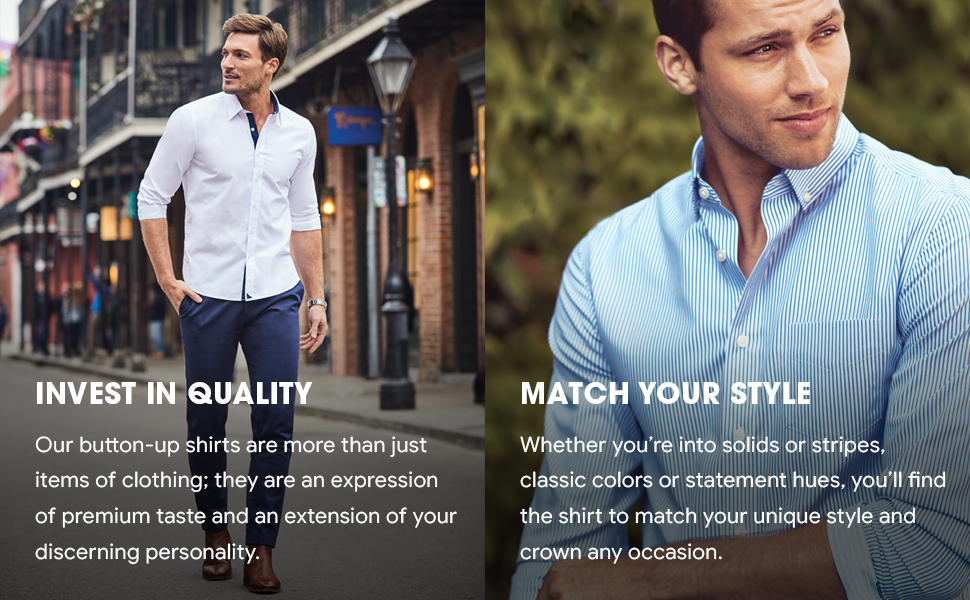 invest in quality with UNTUCKit premium shirts, match your style with unique choices