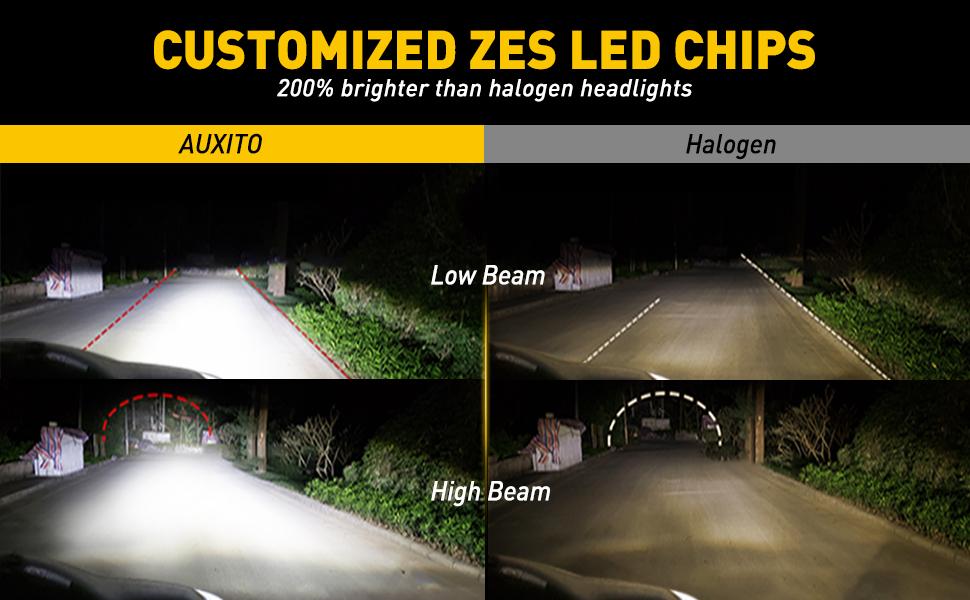 h11 9005 led headlight bulbs