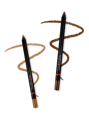 casa zeta jones eye eyeliner liner pencil pencils makeup make up bronze gold mascara wunder2 beauty