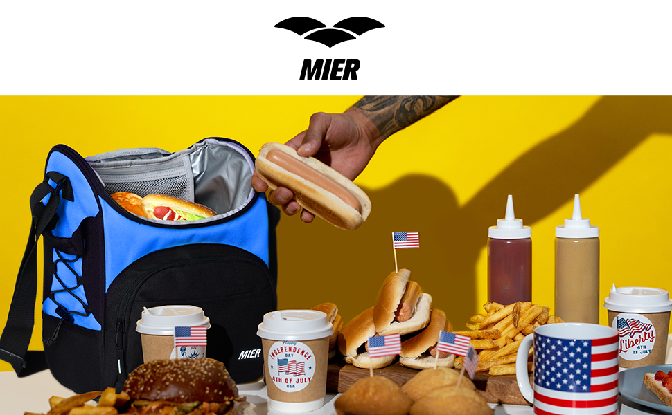 MIER LUNCH TOTE