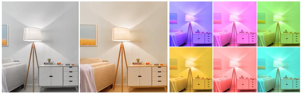 Kleuren smart lamp flinq