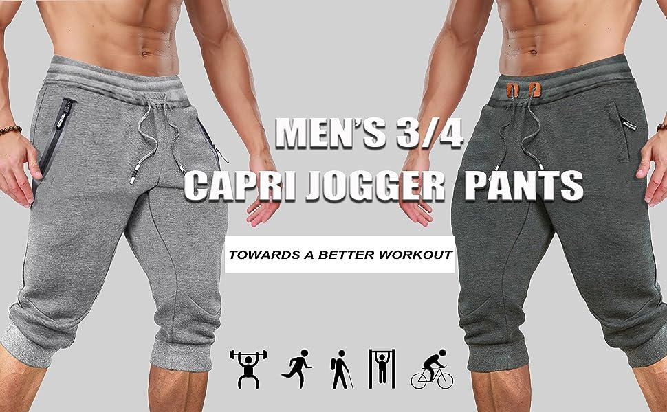 3/4 jogger pants