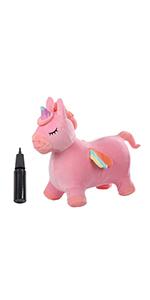 Plush Pink Unicorn