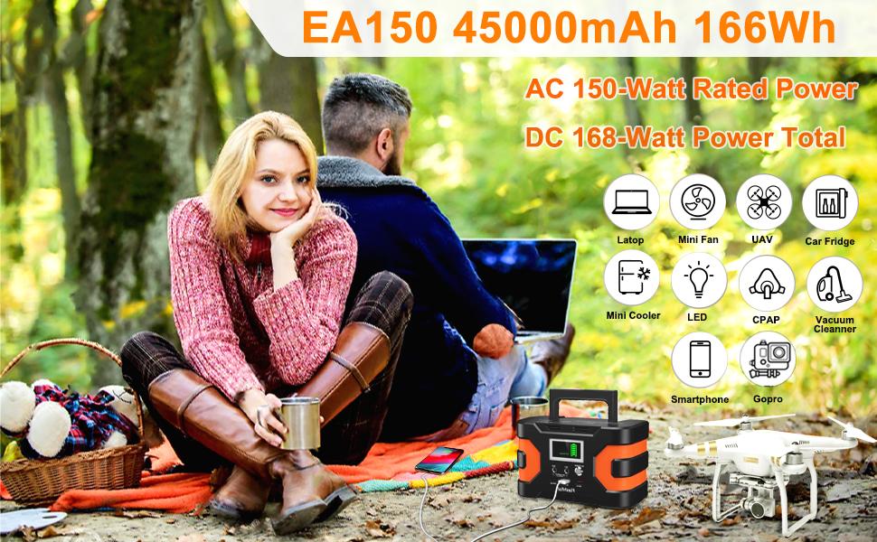 solar generator portable  200W Peak Power Station, Flashfish CPAP Battery 166Wh 45000mAh Backup Power Pack 110V 150W Lithium Battery Pack Camping Solar Generator For CPAP Camping Home Emergency Power Supply 4590f0d1 15c2 4ce8 badb d412c9ec7a80