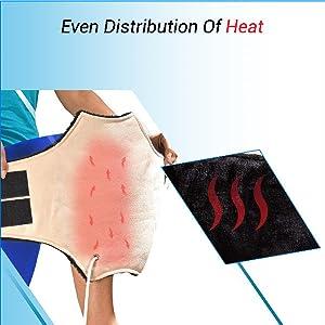 Even Distribution of Heat Pad Belt
