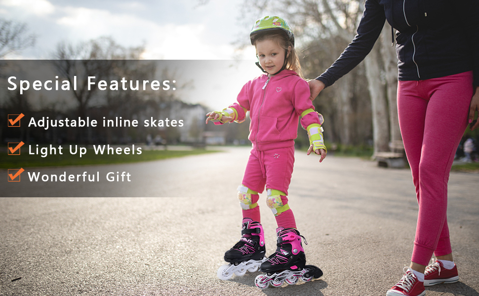 Outdoor Blades Roller Skates for Girls and Boys