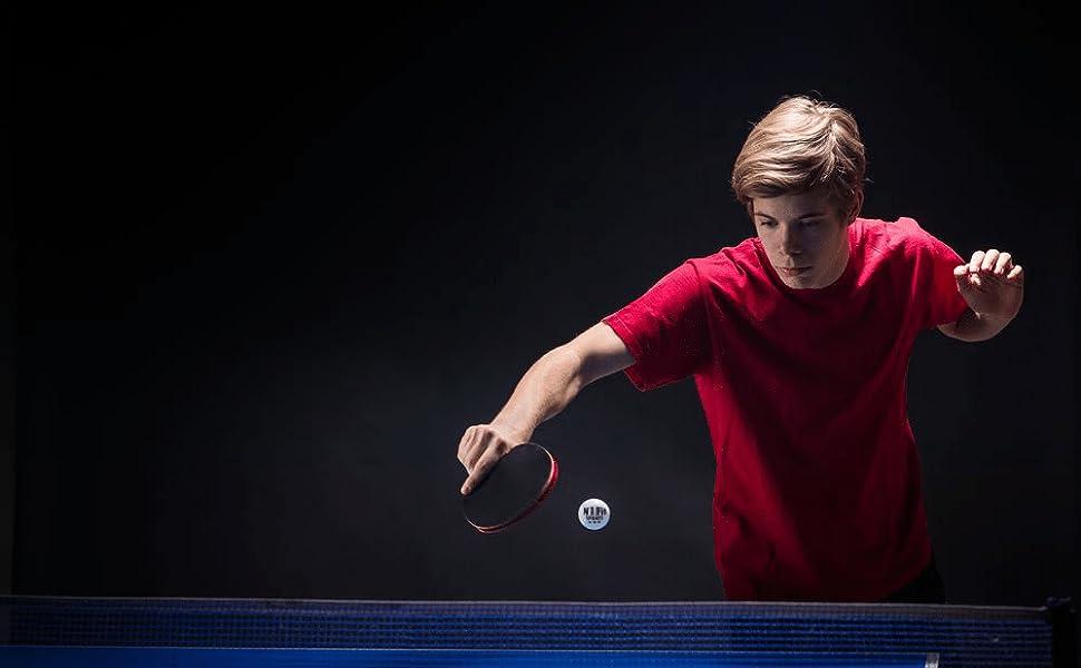 ping pong paddle set