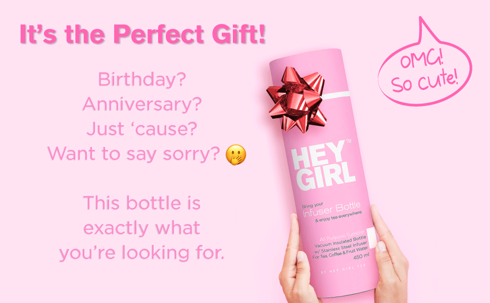 hey girl insulated water bottle gift ideas