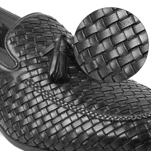 Tresmode,Braided loafers,Loafers with tassel,Leather loafers,Slip-on loafers,casual shoes,moccasins