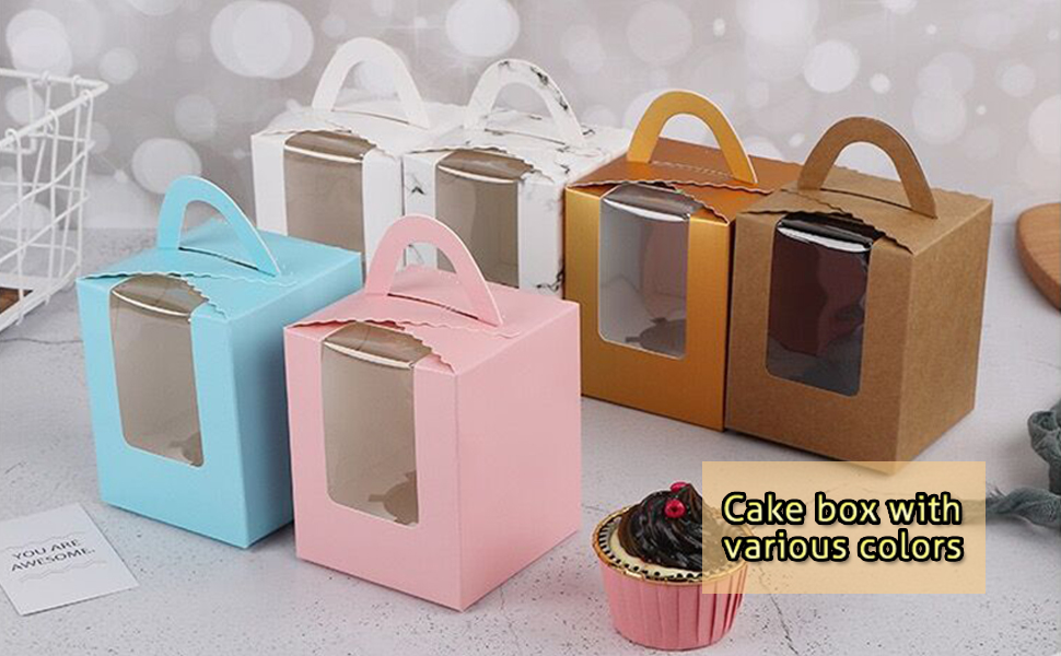 Paper Cupcakes Boxes