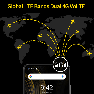Global LTE Bands Dual 4G