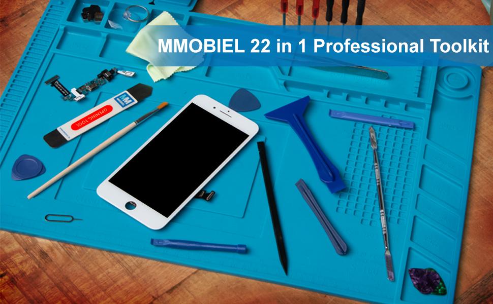 Juego de herramientas MMOBIEL 22 en 1 para abrir dispositivos ...