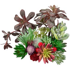 Mini Bulk Feaux Succulent Plants