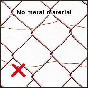 no metal