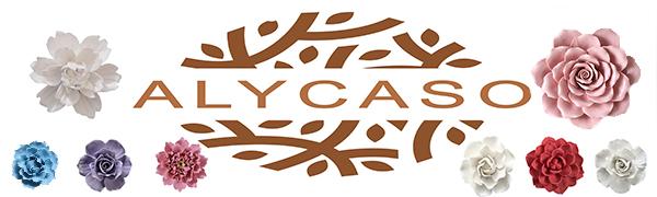 ALYCASO Ceramic Flower
