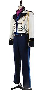 Hans Uniform Cosplay Costume Outfit Suit