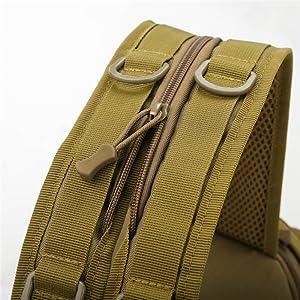 Shoulder strap zipper design