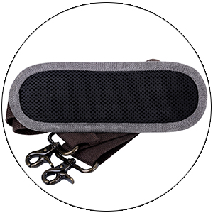 shoulder strap with pad
