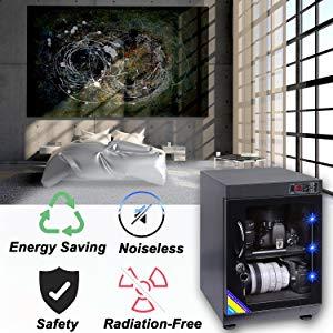 AUTENS Touchscreen Electronic Dehumidify Dry Cabinet