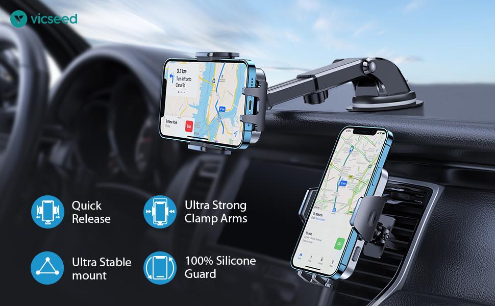 Phone holder for car phone holder mount phone car holder car phone mount