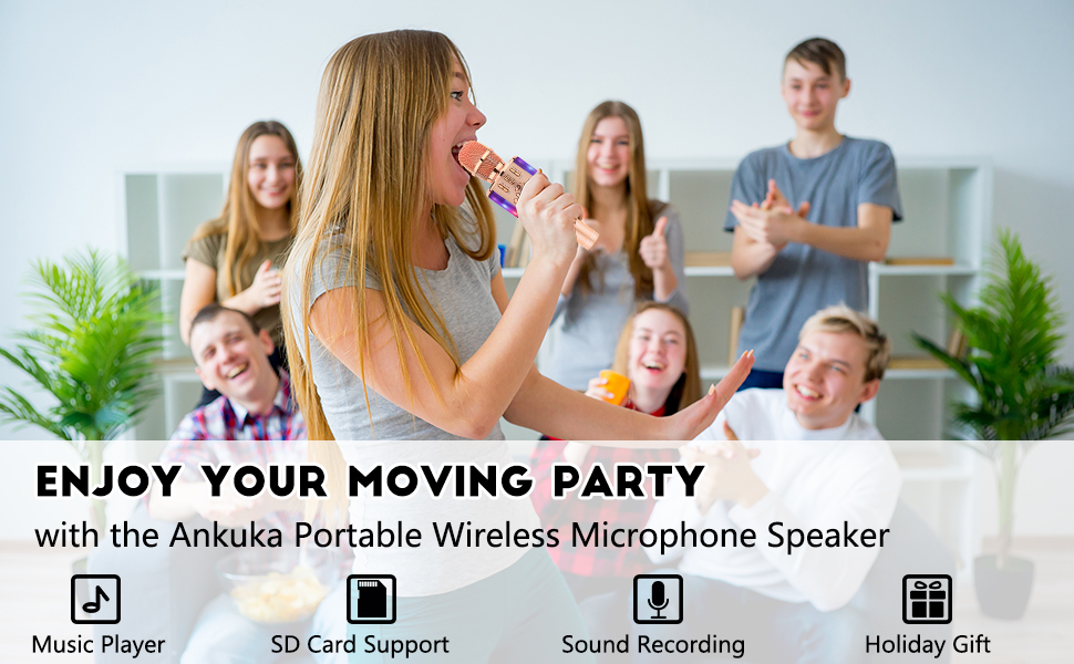 Wireless 4 in 1 Microphone