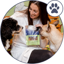 side by side, dog food, pet food, natural, ingredients, made in USA, freeze-dried, treats, pets