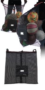 Athletico Mesh Soccer Ball Bag
