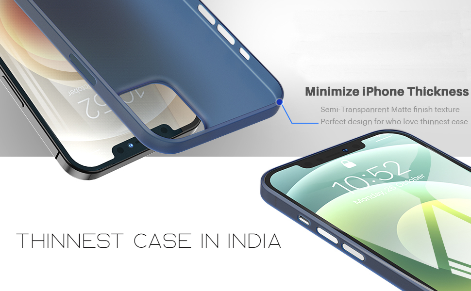 Thinnest case designed for iPhone