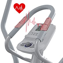 eliptical workout machine with pulse