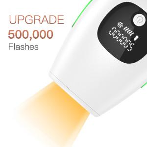 500,000 flashed