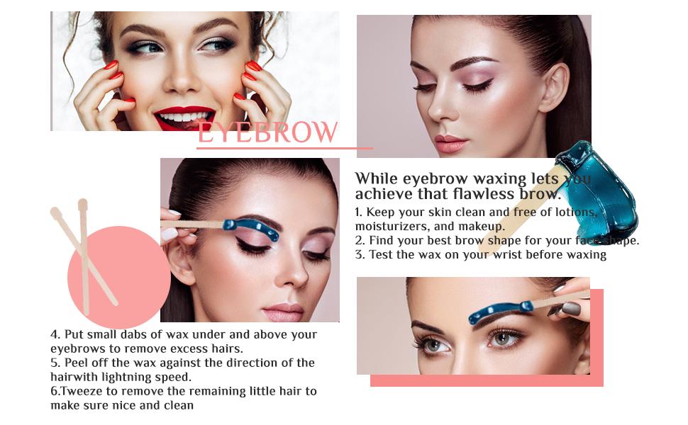 eyebrow waxing kit for women